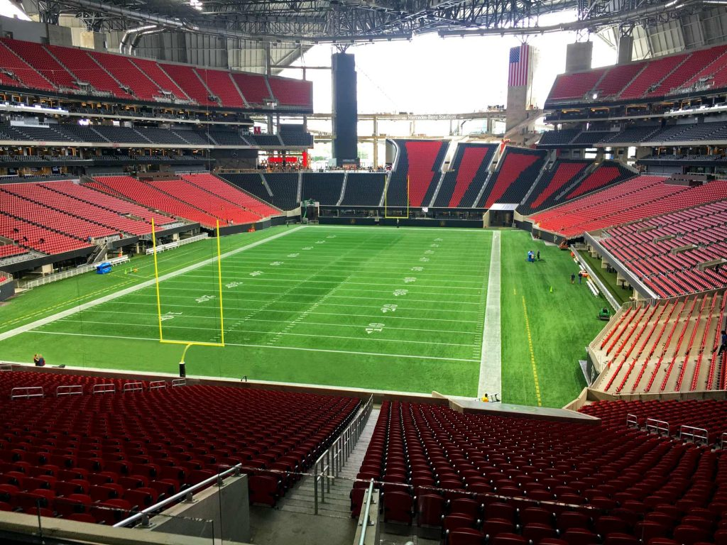Super bowl suites super bowl suite tickets february 4 for Mercedes benz stadium suite prices