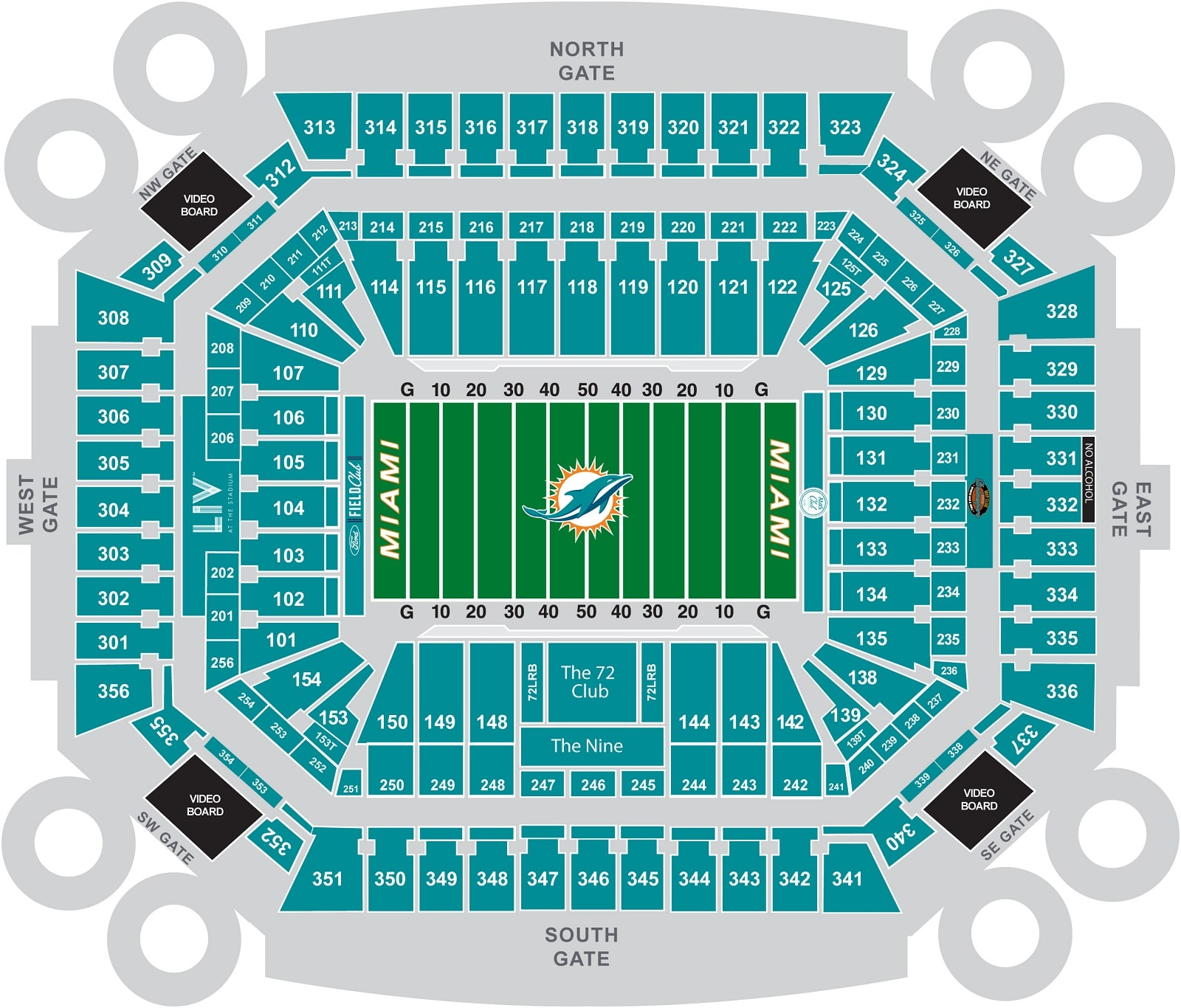 2020 super bowl seating chart february 2 2020 fan hospitality